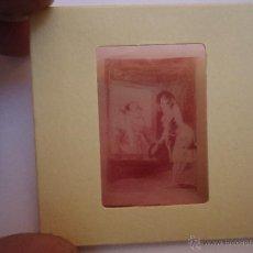 Fotografía antigua: OFICIAL ARCHIVO ORIGINAL DIAPOSITIVA DIBUJOS DEL PINTOR GOYA EN EL MUSEO DEL PRADO POR SANZ VEGA . Lote 51340583