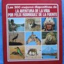 Fotografía antigua: SUELTAS 1 €. LAS 300 MEJORES DIAPOSITIVAS DE LA AVENTURA DE LA VIDA POR FÉLIX RODRÍGUEZ DE LA FUENTE. Lote 55077445