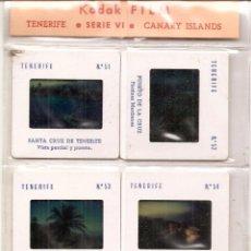 Fotografía antigua: TENERIFE: 10 DIAPOSITIVAS. Lote 55007428