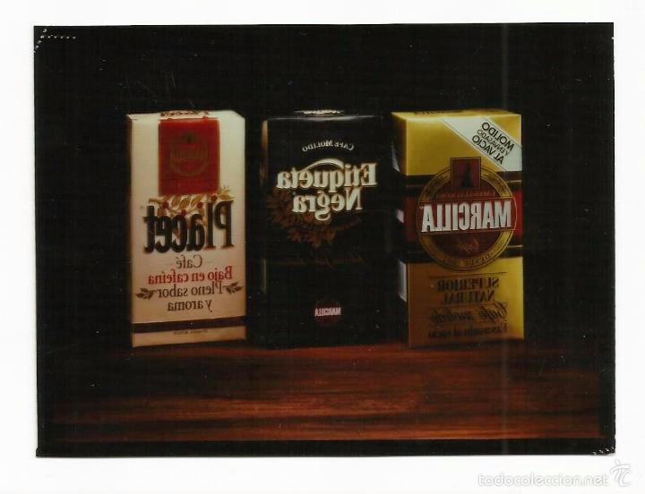 Fotografía antigua: FOTOGRAFÍA PUBLICIDAD EN NEGATIVO -CAFÉS MARCILLA- - Foto 2 - 55713908