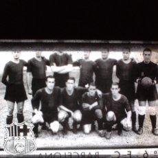 Fotografía antigua: FUTBOL CLUB BARCELONA, FILMINA, CLICHE `POSITIVO SIN SOPORTE , 1ª, TEMPORADA 35, 36.. Lote 56741012