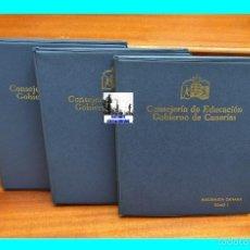 Fotografía antigua: NATURALEZA CANARIA - TOMOS I II Y III - JUEGO COMPLETO - EN COLOR - 309 DIAPOSITIVAS. Lote 57274422
