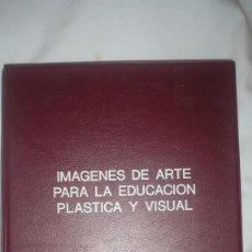 Fotografía antigua: DIAPOSITIVAS IMÁGENES DE ARTE PARA LA EDUCACIÓN PLÁSTICA Y VISUAL. Lote 57290426