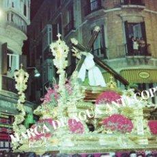 Fotografía antigua: SEMANA SANTA MÁLAGA. NUESTRO PADRE JESÚS DE LA MISERICORDIA EL CHIQUITO. PRINCIPIOS AÑOS 80.. Lote 59104575