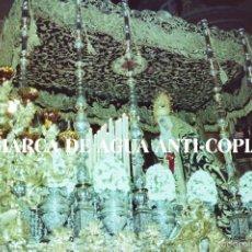 Fotografía antigua: SEMANA SANTA MALAGA. VIRGEN. CLICHÉ-NEGATIVO ORIGINAL. PRINCIPIOS DE LOS AÑOS 80.. Lote 59106740