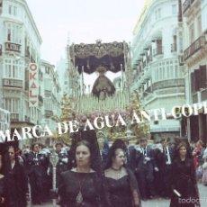 Fotografía antigua: VIRGEN DE LA SEMANA SANTA DE MALAGA CLICHÉ-NEGATIVO ORIGINAL. FINAL DE LOS AÑOS 70. Lote 59228870