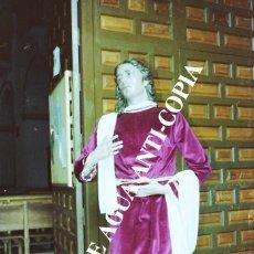 Fotografía antigua: SAN JUAN DE LA SEMANA SANTA DE MÁLAGA . CLICHÉ-NEGATIVO ORIGINAL . PRINCIPIOS DE LOS AÑOS 80. Lote 59479324