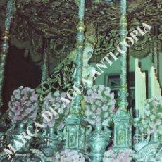 Fotografía antigua: PASO DE VIRGEN DE LA SEMANA SANTA DE MÁLAGA. CLICHÉ-NEGATIVO ORIGINAL. PRINCIPIO DE LOS AÑOS 80. Lote 59479459