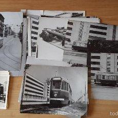 Fotografía antigua: LOTE 28 FOTOGRAFÍAS - TRANVIA (TREN) EN ROMA - Bº VITTORIA. AÑOS 40´S - VER IMÁGENES ADICIONALES. Lote 59569591