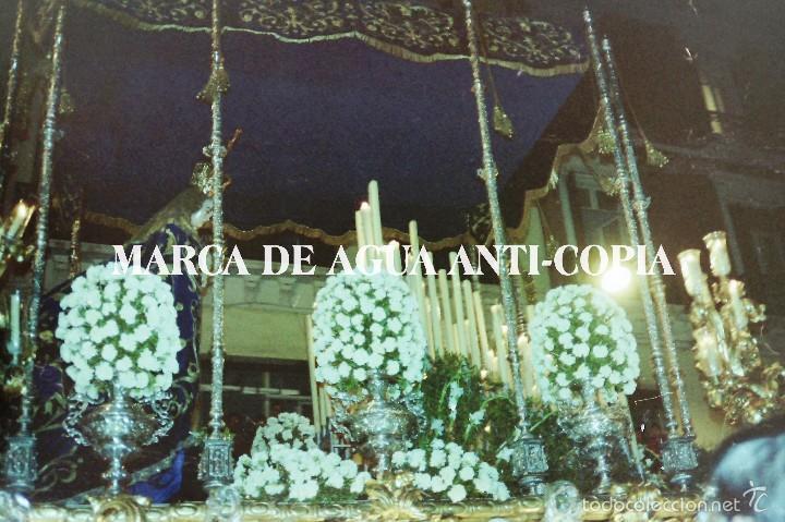 SEMANA SANTA MÁLAGA. PRINCIPIOS DE LOS AÑOS 80. CLICHÉ-NEGATIVO ORIGINAL. (Fotografía Antigua - Diapositivas)