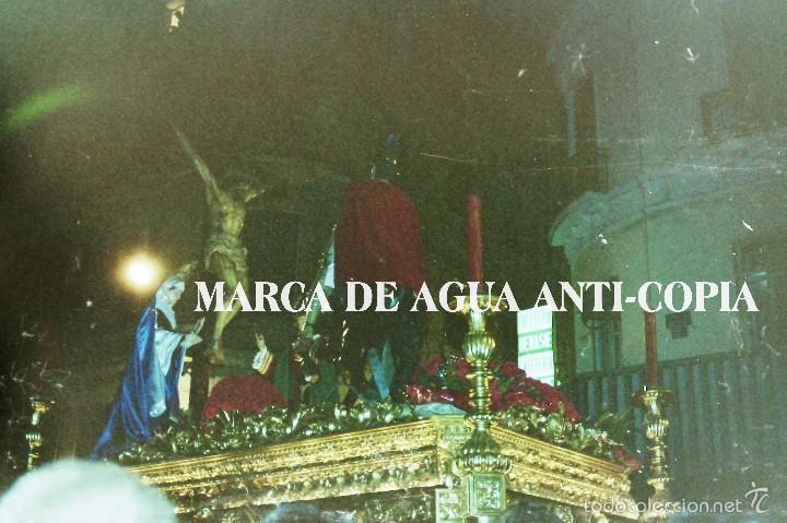 SEMANA SANTA MÁLAGA.LANZADA. PRINCIPIOS DE LOS AÑOS 80. CLICHÉ-NEGATIVO ORIGINAL (Fotografía Antigua - Diapositivas)