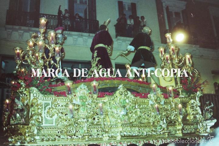 SEMANA SANTA MÁLAGA. CLICHÉ NEGATIVO ORIGINAL. PRINCIPIOS DE LOS AÑOS 80 (Fotografía Antigua - Diapositivas)