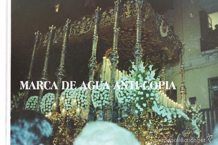 SEMANA SANTA DE MÁLAGA. CLICHÉ-NEGATIVO ORIGINAL. PRINCIPIOS DE LOS AÑOS 80 (Fotografía Antigua - Diapositivas)