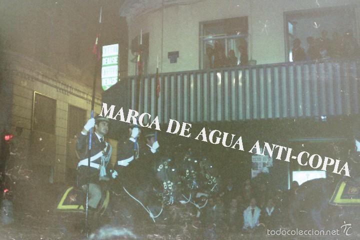 SEMANA SANTA MÁLAGA. PRINCIPIOS DE LOS AÑOS 80. CLICHÉ-NEGATIVO ORIGINAL (Fotografía Antigua - Diapositivas)