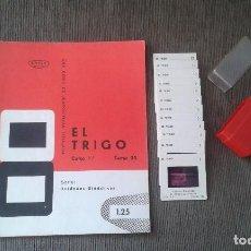 Fotografía antigua: EL TRIGO - 12 DIAPOSITIVAS Y LIBRETO - CON ILUSTRACIONES DE ÉPOCA - 1967 - VER FOTOS . Lote 66490126
