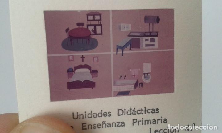 Fotografía antigua: LA CASA - 12 diapositivas y estuche - ilustraciones de época - 1967 - Ver fotos - Foto 2 - 66533986