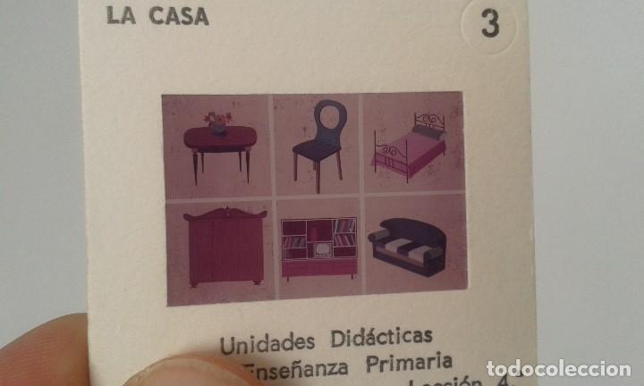 Fotografía antigua: LA CASA - 12 diapositivas y estuche - ilustraciones de época - 1967 - Ver fotos - Foto 3 - 66533986