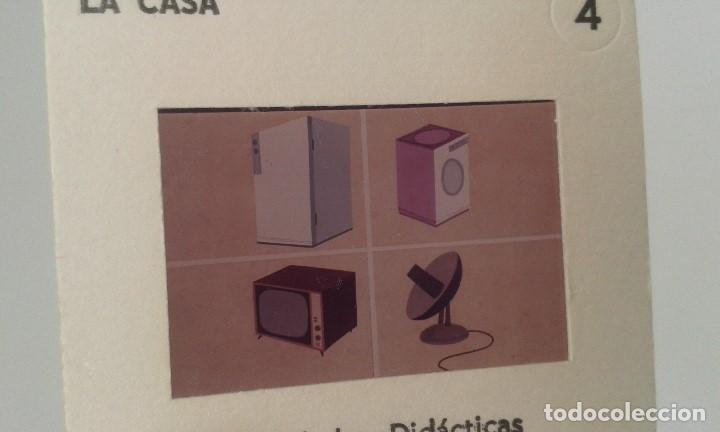 Fotografía antigua: LA CASA - 12 diapositivas y estuche - ilustraciones de época - 1967 - Ver fotos - Foto 4 - 66533986