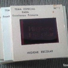 Fotografía antigua: HIGIENE ESCOLAR -- 28 DIAPOSITIVAS -- ILUSTRACIONES DE ÉPOCA, AÑOS 60 -- VER FOTOS --. Lote 66583678