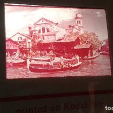 Fotografía antigua: 119 DIAPOSITIVAS -- VENECIA -- VENEZIA ( ITALIA ) -- AÑOS 70. Lote 67361025