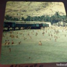 Fotografía antigua: ALICANTE, ANTIGUA DIAPOSITIVA CRISTAL CON MARCO, GLAS LANTERN SLIDE, MEDIDAS 7 X 7 CM,. Lote 68321149