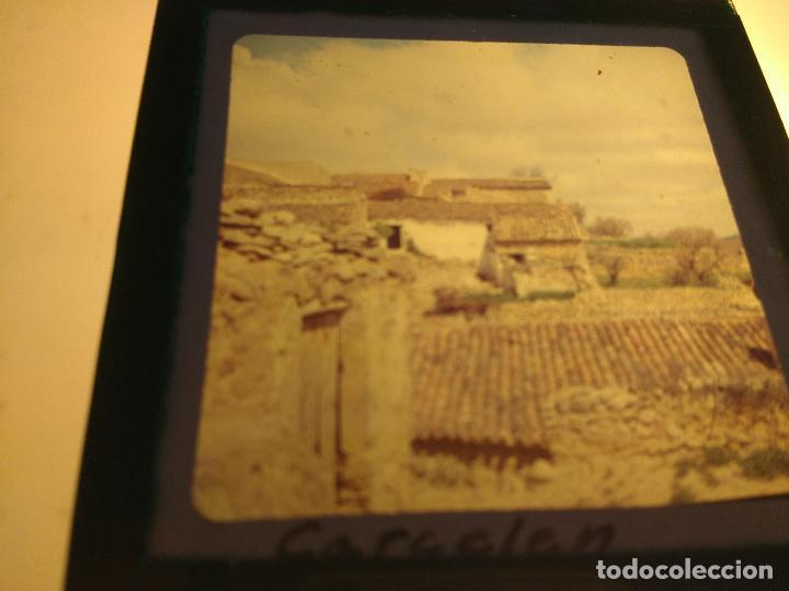 carcelen, albacete, antigua diapositiva cristal - Comprar ...