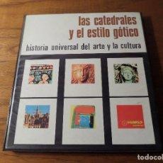 Fotografía antigua: ALBÚM DE DIAPOSITIVAS, LAS CATEDRALES Y EL ESTILO GÓTICO 1970. Lote 68760113