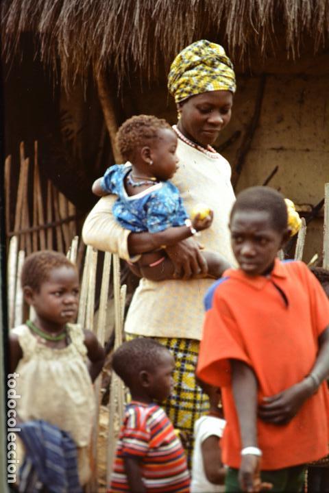 Fotografía antigua: COLECCION 1 DE 100 SENSACIONALES DIAPOSITIVAS DE KENYA-MASAI-MARA-ICENIA REALIZADAS EN 1981 - Foto 3 - 70146693