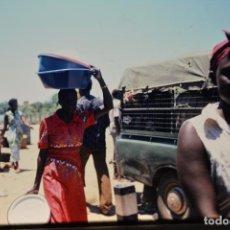 Fotografía antigua: COLECCION N 3 DE 60 DIAPOSITIVAS DE MOMBASA-PARK NARURAL-SENEGAL-DIANI,EAAL-DIANI, EN 1981. Lote 75459026