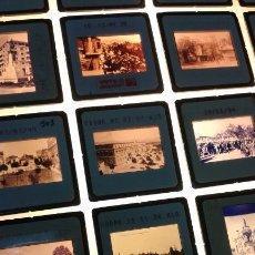 Fotografía antigua: 20 DIAPOSITIVAS DE IMAGENES ANTIGUAS DE LA AVENIDA REY DON JAIME Y LA FAROLA EN CASTELLON. Lote 172096055