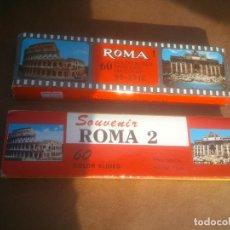 Fotografía antigua: DIAPOSITIVAS COLOR - ROMA1 Y 2 ITALIA - EN ESTUCHE - SOUVENIR KODAK. Lote 72428655