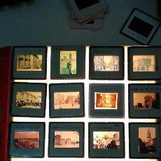 Fotografía antigua: 20 DIAPOSITIVAS DE IMAGENES ANTIGUAS DE CASTELLON. Lote 172095959