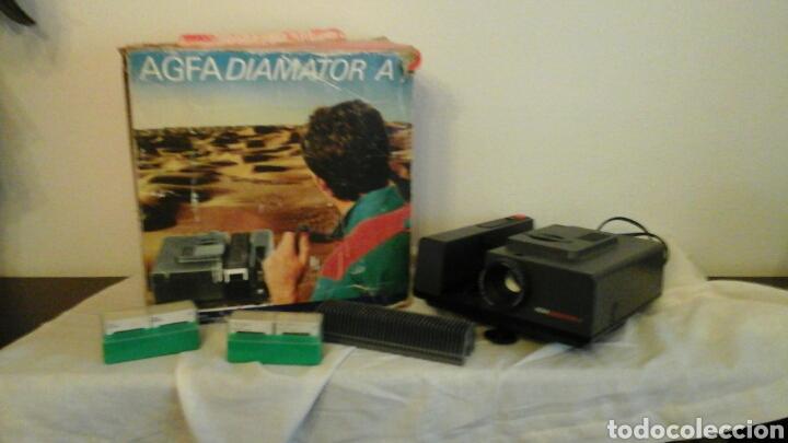 Fotografía antigua: Proyector de diapositivas Agfa Diamator A años 80 - Foto 3 - 73565813