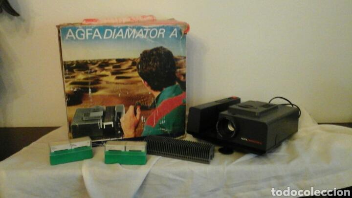 Fotografía antigua: Proyector de diapositivas Agfa Diamator A años 80 - Foto 4 - 73565813