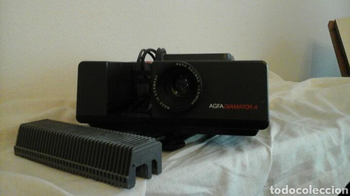 Fotografía antigua: Proyector de diapositivas Agfa Diamator A años 80 - Foto 5 - 73565813