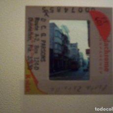 Fotografía antigua: DIAPOSITIVA TRANVIA ALICANTE POETA ZORILLA 1967. Lote 73830563