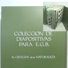 Fotografía antigua: 252 DAIPOSITIVAS -EDITORIAL HIARES EGB- II CIENCIAS DE LA NATURALEZA - 21 TITULOS - DIAPOSITIVA . Lote 83156344