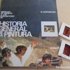 Fotografía antigua: 12 DIAPOSITIVAS Hª GENERAL DE LA PINTURA - AGUILAR - AÑO 1968 - SIN USAR - DE TIENDA. Lote 83342376