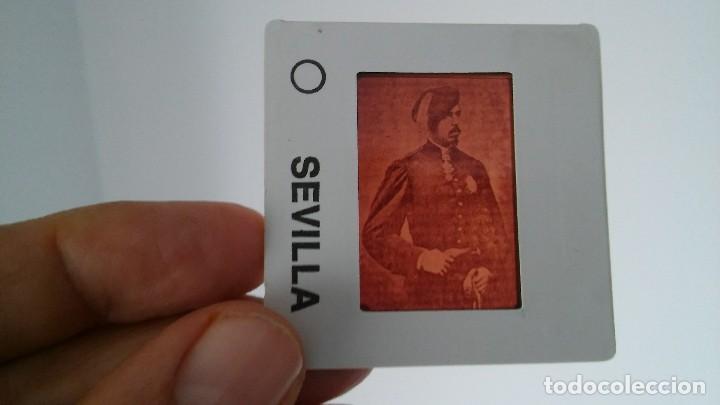 DIAPOSITIVA MILITAR ESPAÑA SIGLO XIX. CARLOS VII DE BORBON. (Fotografía Antigua - Diapositivas)