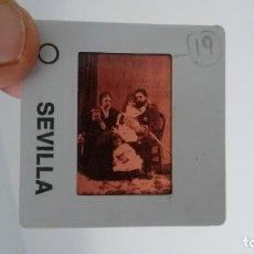Fotografía antigua: DIAPOSITIVA MILITAR ESPAÑA SIGLO XIX. CARLOS VII DE BORBON.. Lote 83601588