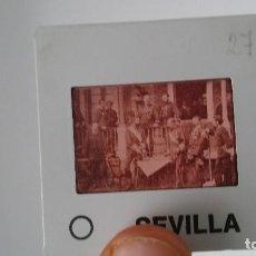 Fotografía antigua: DIAPOSITIVA MILITAR ESPAÑA SIGLO XIX. CARLOS VII DE BORBON.. Lote 83601928