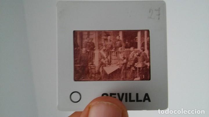 Fotografía antigua: DIAPOSITIVA MILITAR ESPAÑA SIGLO XIX. CARLOS VII DE BORBON. - Foto 2 - 83601928