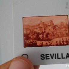 Fotografía antigua: DIAPOSITIVA MILITAR ESPAÑA SIGLO XIX. CARLOS VII DE BORBON.. Lote 83602320