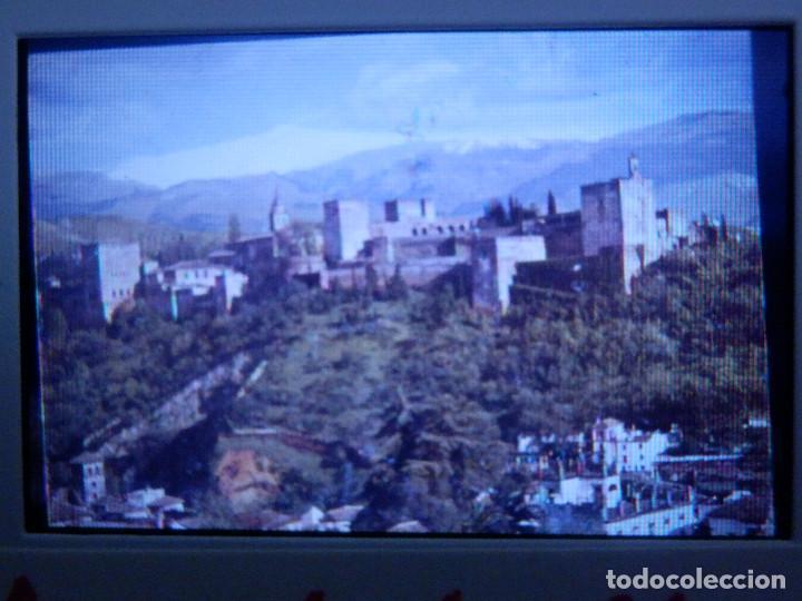 DIAPOSITIVA - FILMINA - 35 MM - MONTADA EN MARCO PROFESIONAL - GRANADA - LA CIUDAD Y SIERRA NEVADA (Fotografía Antigua - Diapositivas)
