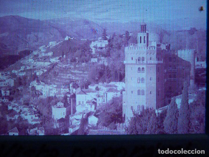 DIAPOSITIVA - FILMINA - 35 MM - MONTADA EN MARCO PROFESIONAL - GRANADA -VISTA PANORÁMICA CIUDAD (Fotografía Antigua - Diapositivas)