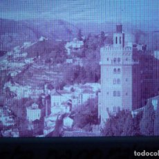 Fotografía antigua: DIAPOSITIVA - FILMINA - 35 MM - MONTADA EN MARCO PROFESIONAL - GRANADA -VISTA PANORÁMICA CIUDAD. Lote 84464792