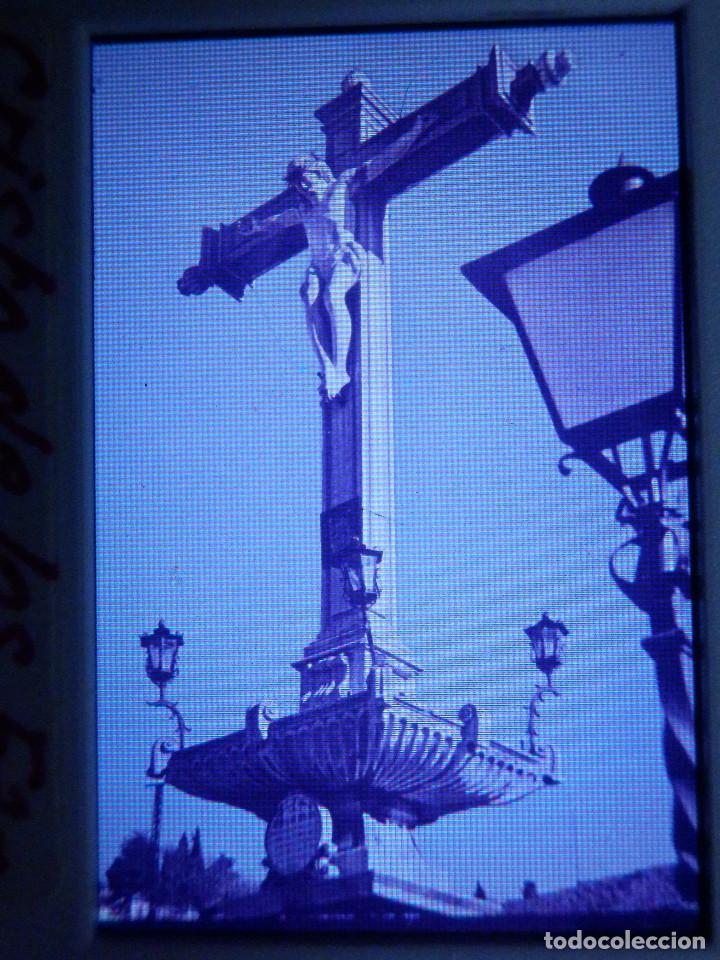 DIAPOSITIVA - FILMINA - 35 MM - MONTADA EN MARCO PROFESIONAL - GRANADA - CRISTO DE LOS FAVORES (Fotografía Antigua - Diapositivas)
