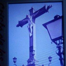Fotografía antigua: DIAPOSITIVA - FILMINA - 35 MM - MONTADA EN MARCO PROFESIONAL - GRANADA - CRISTO DE LOS FAVORES. Lote 84465256