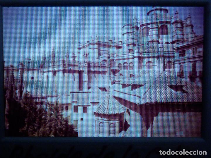 DIAPOSITIVA - FILMINA - 35 MM - MONTADA MARCO PROFESIONAL - GRANADA - ABSIDE CATEDRAL Y CAPILLA REAL (Fotografía Antigua - Diapositivas)
