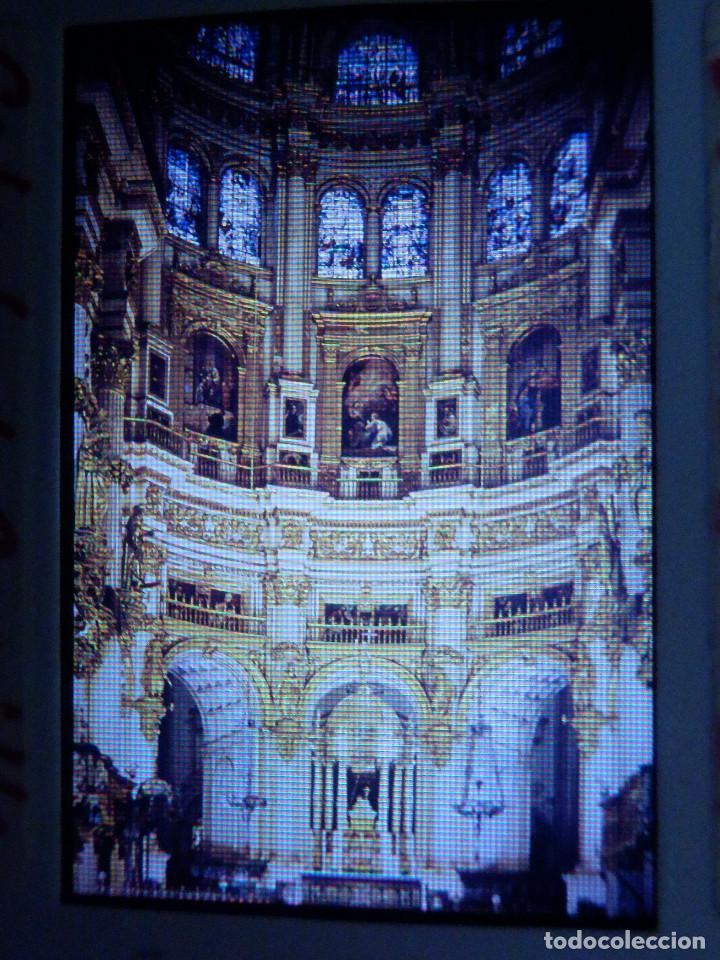 DIAPOSITIVA - FILMINA - 35 MM - MONTADA MARCO PROFESIONAL - GRANADA - CATEDRAL, CAPILLA MAYOR (Fotografía Antigua - Diapositivas)